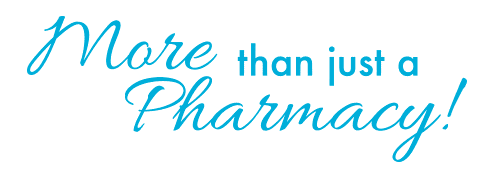 more than just a pharmacy textual tagline image